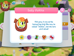 Size: 2048x1536   Tagged: safe, lady justice, swift justice, pony, game, game screencap, gameloft, ponyville