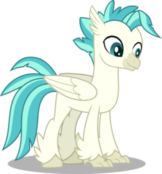 Size: 4664x5000   Tagged: safe, artist:dashiesparkle, terramar, classical hippogriff, hippogriff, surf and/or turf, .svg available, absurd resolution, male, missing accessory, simple background, transparent background, vector