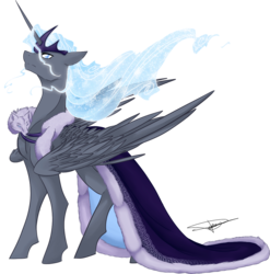Size: 1171x1185 | Tagged: alicorn, artist:flying pumpkin, cape, clothes, crown, jewelry, male, oc, oc:northern lights, regalia, safe, simple background, solo, transparent background