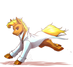 Size: 1900x1730 | Tagged: artist:mykegreywolf, art trade, clothes, male, oc, oc:roland, pony, safe, solo
