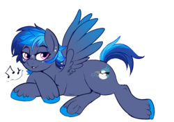 Size: 950x670 | Tagged: artist:lulubell, female, infidelity, mare, oc, oc:blue jay, oc only, parent:rainbow dash, parent:shining armor, parents:shiningdash, pegasus, rainbow dash, safe, shining armor, shiningdash, shipping, straight