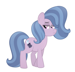 Size: 1024x985 | Tagged: artist:ashiida, earth pony, female, magical lesbian spawn, mare, oc, oc:blivet, offspring, parents:startrix, parent:starlight glimmer, parent:trixie, pony, safe, simple background, solo, transparent background