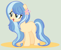 Size: 2224x1848 | Tagged: safe, artist:starfalldawn, oc, earth pony, pony, female, magical lesbian spawn, mare, offspring, parent:doctor fauna, parent:fluttershy, parents:faunashy, simple background, solo