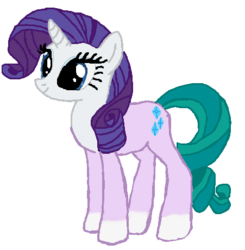 Size: 451x460 | Tagged: safe, artist:qjosh, mistmane, rarity, character to character, pony to pony, transformation