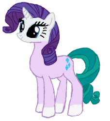 Size: 465x513 | Tagged: safe, artist:qjosh, mistmane, rarity, character to character, pony to pony, transformation