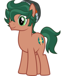 Size: 3000x3706 | Tagged: artist:saukapie, beanie, earth pony, equestria girls ponified, hat, ponified, pony, safe, simple background, timber spruce, transparent background, vector
