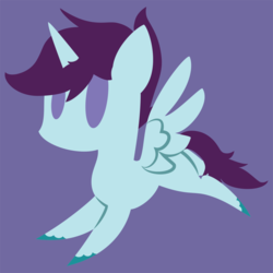 Size: 1024x1024 | Tagged: safe, artist:showtimeandcoal, oc, oc:prince plume, alicorn, pony, commission, icon, male, minimalist, modern art, pointy ponies, simple background, solo, stallion, vector, ych result