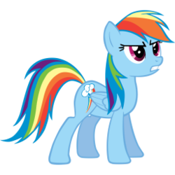Size: 256x256 | Tagged: artist needed, female, mare, pegasus, rainbow dash, rare, safe, simple background, solo, transparent background, vector