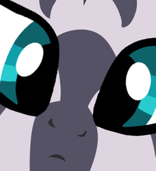 Size: 500x549 | Tagged: artist:grapefruitface1, close-up, close up series, confused, cute, derpibooru exclusive, edit, extreme close up, female, looking at you, meme, part of a set, safe, solo, stare, zebra, zecora, zecorable