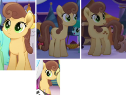 Size: 535x405 | Tagged: safe, screencap, chocolate apple, earth pony, pony, my little pony: the movie, background pony, compilation, cropped, female, mare, solo focus