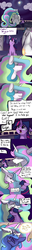 Size: 3464x27054 | Tagged: safe, artist:greyscaleart, princess celestia, princess luna, twilight sparkle, alicorn, pony, unicorn, the tiny apprentice, absurd file size, absurd resolution, comic, constellation, constellation freckles, crying, cute, description is relevant, dialogue, eyes closed, feels, female, filly, filly twilight sparkle, greyscaleart is trying to murder us, heartwarming, heartwarming tearjerker, mare, mare in the moon, momlestia, moon, nuzzling, open mouth, royal sisters, s1 luna, sad, sitting, smol, speech bubble, tears of joy, teary eyes, unicorn twilight, younger