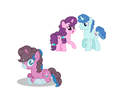Size: 1152x952 | Tagged: artist:theocpony, male, oc, offspring, parent:party favor, parents:partybelle, parent:sugar belle, partybelle, party favor, safe, shipping, straight, sugar belle