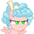 Size: 3500x3500 | Tagged: safe, alternate version, artist:masem, cozy glow, pegasus, pony, marks for effort, cozy glow's true goal, female, filly, freckles, glowing eyes, green eyes, high res, simple background, solo, transparent background