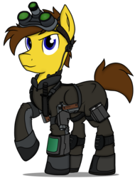 Size: 1228x1620 | Tagged: artist:xphil1998, clothes, crossover, m1911, oc, oc:hawkshot, oc only, pegasus, pony, safe, simple background, solo, splinter cell, stealth suit, suit, transparent background