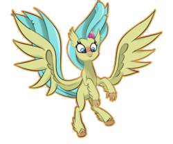 Size: 3000x2500 | Tagged: safe, artist:chedx, princess skystar, classical hippogriff, hippogriff, my little pony: the movie, female, simple background, solo, spread wings, transparent background, wings