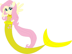 Size: 714x533 | Tagged: artist:selenaede, artist:user15432, base, base used, clothes, equestria girls, fins, fluttershy, hasbro, hasbro studios, human, humanized, jewelry, mermaid, mermaidized, mermaid tail, necklace, ponified, pony, safe, species swap, tail, winged humanization, wings