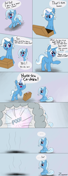 Size: 2975x7700 | Tagged: abandonment, absurd res, artist:zaponator, comic, deadbeat, disappearing, father's day, female, filly, filly trixie, jack pot, safe, suitcase, teleportation, this will end in tears, trixie, we are going to hell, younger