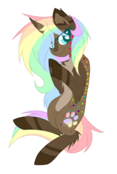 Size: 503x749 | Tagged: artist:electricaldragon, colored pupils, female, heart eyes, mare, oc, oc:cocoa swirl, pony, safe, simple background, solo, transparent background, unicorn, wingding eyes