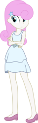Size: 1375x4455 | Tagged: artist:vicakukac200, clothes, crossed arms, dress, equestria girls, equestria girls-ified, female, safe, simple background, solo, transparent background, twinkleshine