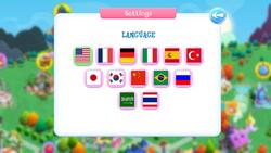 Size: 1280x720 | Tagged: safe, arabic, brazil, china, chinese, cyrillic, english, flag, france, french, gameloft, german, germany, italian, italy, japan, japanese, korean, language, portuguese, russia, russian, saudi arabia, south korea, spain, spanish, thai, thailand, turkey (country), turkish, united states
