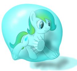 Size: 2700x2500 | Tagged: artist:bladedragoon7575, bubble, floating, in bubble, oc, oc:delphina depths, oc only, safe, simple background, transparent background