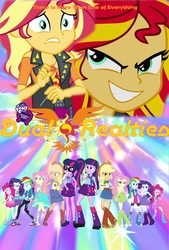 Size: 712x1055 | Tagged: applejack, artist:biggernate91, converse, edit, equestria girls, equestria girls series, fluttershy, humane five, humane seven, humane six, human sunset, paint 3d, pinkie pie, poster, rainbow dash, rarity, safe, sci-twi, shoes, sunset shimmer, twilight sparkle, twolight