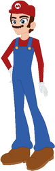 Size: 212x656 | Tagged: safe, artist:selenaede, artist:user15432, human, equestria girls, barely eqg related, base used, cap, clothes, crossover, equestria girls style, equestria girls-ified, facial hair, gloves, hasbro, hasbro studios, hat, long sleeve shirt, long sleeves, mario, mario's hat, moustache, nintendo, overalls, shirt, shoes, super mario bros., super smash bros., undershirt
