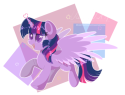 Size: 1600x1218   Tagged: safe, artist:musicfirewind, twilight sparkle, alicorn, pony, female, heart, mare, simple background, solo, starry eyes, transparent background, twilight sparkle (alicorn), wingding eyes