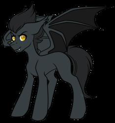Size: 3280x3498 | Tagged: safe, artist:hellishprogrammer, oc, oc:talio jòvi, bat pony, pony, bat pony oc, high res, male, simple background, solo, stallion, transparent background