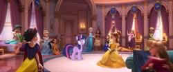 Size: 1920x804 | Tagged: safe, edit, screencap, twilight sparkle, alicorn, aladdin, anna, anna (frozen), aurora, belle, cinderella, disney, disney princess, disney princesses, elsa, female, frozen (movie), jasmine, moana, plushie, pocahontas, princess aurora, princess belle, ralph breaks the internet, rapunzel, sleeping beauty, snow white, the princess and the frog, tiana, twilight sparkle (alicorn), wreck-it ralph, wreck-it ralph 2