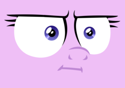 Size: 1950x1377 | Tagged: safe, starlight glimmer, marks for effort, :i, face, faic, glare, i mean i see, solo, wat, wide eyes