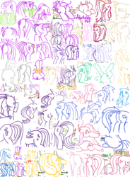 Size: 1280x1743 | Tagged: safe, artist:adorkabletwilightandfriends, amethyst star, applejack, berry punch, berryshine, bon bon, cheerilee, cloudchaser, coco pommel, dj pon-3, lily, lily valley, lyra heartstrings, minuette, moondancer, octavia melody, princess cadance, rarity, roseluck, sparkler, spike, starlight glimmer, sweetie drops, twilight sparkle, vinyl scratch, oc, alicorn, pony, comic:adorkable twilight and friends, adorabon, adorkable, adorkable friends, adorkable twilight, applebutt, awwmethyst star, bend over, bending, berrybetes, bon butt, bondage, butt only, cheeribetes, clothes, cocobetes, collage, cute, cutechaser, cutedance, cuteluck, dancerbetes, dimples, dork, female, flowerbutt, glim glam, glimmer glutes, hatbutt, i watch it for the plot, lilybetes, lineart, lovebutt, lying down, lyra hindstrings, lyrabetes, massage, minubetes, mooningdancer, pile, plot, plot pile, plot up, rearity, rope, side, sitting, socks, striped socks, tavi, tavibetes, tied up, treblebutt, twibutt, twilight sparkle (alicorn), vinyl ass, vinylbetes, walking, wall of plot