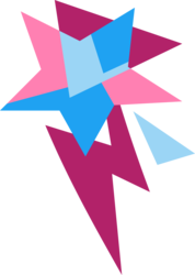 Size: 4096x5761 | Tagged: safe, artist:parclytaxel, starstreak, .svg available, absurd resolution, cutie mark, cutie mark only, no pony, simple background, transparent background, vector