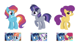 Size: 1241x719 | Tagged: safe, artist:andy-hazards, night light, posey shy, twilight velvet, windy whistles, oc, oc only, pegasus, pony, unicorn, base used, blank flank, female, male, mare, nightvelvet, offspring, parent swap au, parent:night light, parent:posey shy, parent:twilight velvet, parent:windy whistles, parents:nightvelvet, parents:poseynight, parents:windylight, poseynight, shipping, simple background, straight, transparent background, windylight