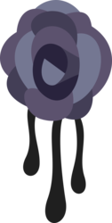 Size: 4096x8147 | Tagged: safe, artist:parclytaxel, inky rose, .svg available, absurd resolution, cutie mark, cutie mark only, no pony, simple background, transparent background, vector