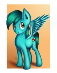 Size: 1400x1800 | Tagged: safe, artist:qbellas, oc, pegasus, pony, commission, solo