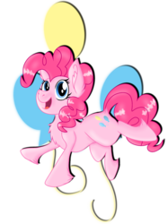 Size: 2048x2732 | Tagged: safe, artist:prismaticstars, pinkie pie, earth pony, pony, cutie mark, female, happy, high res, mare, simple background, solo, transparent background