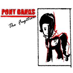 Size: 1400x1400 | Tagged: safe, alternate version, artist:grapefruitface1, oc, oc:pony banks, pony, album cover, ponified, ponified album cover, solo, the fugitive, tony banks, update