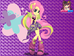 Size: 794x598 | Tagged: safe, artist:user15432, fluttershy, equestria girls, rainbow rocks, boots, clothes, dressup, dressup game, equestria girls rainbow rocks, female, hasbro, hasbro studios, ponied up, pony ears, rainbow hair, rock and roll, shoes, starsue, winged humanization, wings