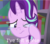 Size: 817x715 | Tagged: safe, edit, edited screencap, screencap, starlight glimmer, pony, unicorn, the crystalling, spoiler:steven universe, cropped, crying, lapis lazuli (steven universe), sad, solo, spoilers for another series, steven universe, teary eyes