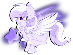 Size: 2732x2048 | Tagged: safe, artist:prismaticstars, oc, oc only, oc:starstorm slumber, pegasus, pony, chest fluff, female, high res, mare, simple background, solo, transparent background, vector