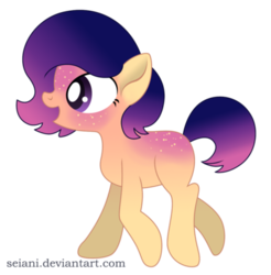 Size: 400x407 | Tagged: safe, artist:seiani, oc, earth pony, pony, female, mare, simple background, solo, transparent background