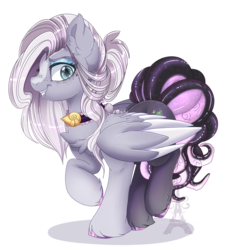Size: 1600x1742 | Tagged: safe, artist:silent-shadow-wolf, oc, oc only, hybrid, monster pony, octopony, octopus, original species, pegasus, pony, female, mare, monster mare, simple background, smiling, solo, tentacles, transparent background