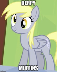 Size: 500x634 | Tagged: safe, edit, edited screencap, screencap, derpy hooves, rainbow falls, cropped, cute, female, food, muffin, solo