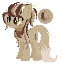 Size: 396x409 | Tagged: artist:6fingersloveryt, female, hybrid, interspecies offspring, oc, oc:hypnotic moon, offspring, parent:discord, parent:moondancer, parents:discodancer, safe, simple background, solo, transparent background