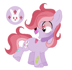Size: 344x333 | Tagged: artist:6fingersloveryt, bandaid, colt, earth pony, magical lesbian spawn, male, oc, oc:sweet heart, offspring, parent:doctor fauna, parent:fluttershy, parents:faunashy, safe, simple background, solo, transparent background
