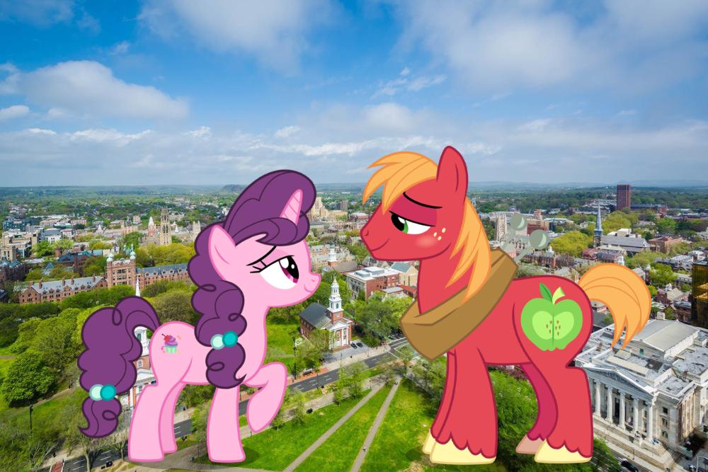1785002 Artistjerryakira79 Big Macintosh Female Giant Pony