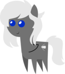 Size: 1255x1419 | Tagged: safe, artist:sketchmcreations, oc, oc:silver bullet, pegasus, pony, unicorn, commission, female, pointy ponies, simple background, solo, transparent background