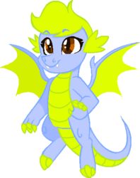 Size: 374x472 | Tagged: artist:sapphirescarletta, artist:summersketch-mlp, dragon oc, female, oc, oc only, safe, simple background, transparent background