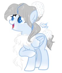 Size: 800x945 | Tagged: artist:sugarplanets, colored pupils, female, ice cream pony, mare, oc, pegasus, pony, safe, simple background, solo, transparent background